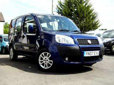 Fiat Doblo wav wheelchair accessible vcehicle disabled access car