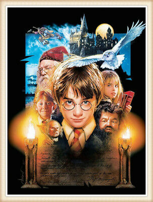 UK Harry Potter Full Drill 5D Diamond Painting DIY Embroidery Cross Stitch Decor