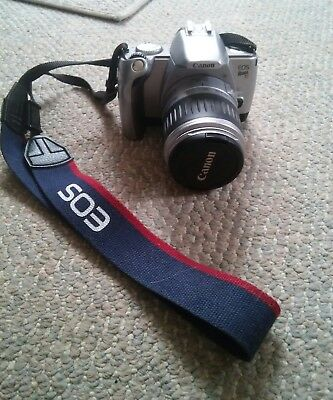 025 Canon EOS Rebel Ti / 300V 35mm SLR Film Camera with 28-90 mm lens