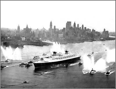 Photo The SS France Maiden Voyage to NY, 1962, View 1