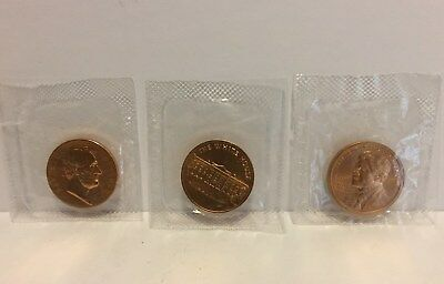 Set of 3 Commemorative Presidential Inauguration Coins Medals Bronze