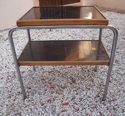 Petite table d'appoint  style BREUER THONET