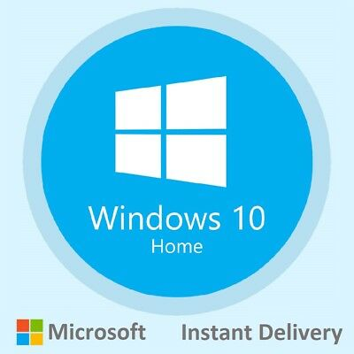 Windows 10 Home 32/64 BIT Genuine Product Key Activation Code INSTANT DELIVERY