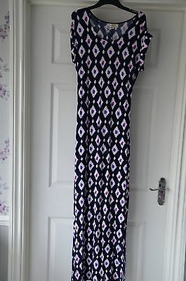 Clothing, Shoes & Accessories Lovely ~butterfly Maxi Dress ~papaya Weekend ~16 ~paisley Hem ~india Women's Clothing