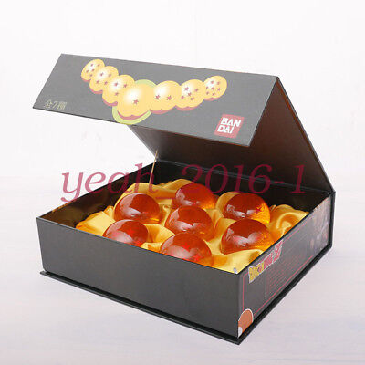 1set 7 Stars Crystal Balls 3.5CM Dragon Ball Z Set New Box 7 Pcs Complete Set #1