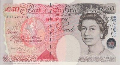 England Banknote P388c 50 Pounds (2006) Sig A. Bailey, UNC