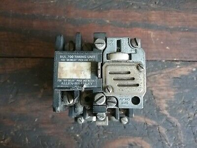 Allen Bradley 700-NM600A1, Seriel D, On-Off Latch Relay