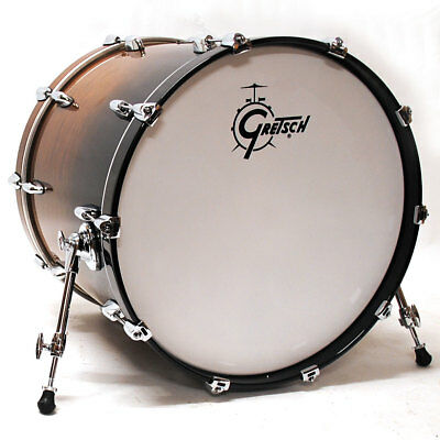 "Bass Drum Gretsch Drums Renown Purewood Walnut 20""x16"" WBF Bassdrum Bass-Drum NE"