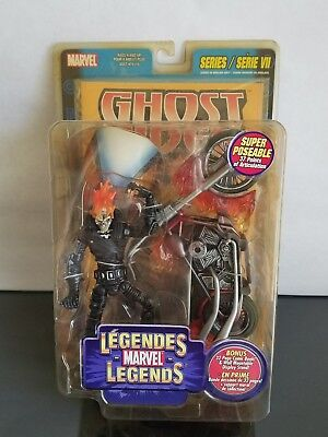 "TOY BIZ MARVEL LEGENDS Series 7 GHOST RIDER 6"" Action Figure"