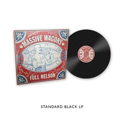 Massive Wagons 'Full Nelson' Black Vinyl - NEW