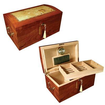 Prestige Import Group - The Broadway Cigar Humidor - Color: Lacquer Burl w/