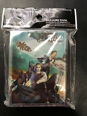 SDCC 2018 EXCLUSIVE Official Final Fantasy XII 12 TCG Card Sleeves Pack