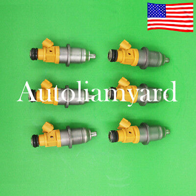 6 OEM Fuel Injector For 2003 & up 60V-13761-00-00 Yamaha Outboard HPDI 250 300HP