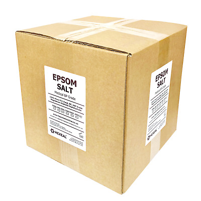 EPSOM SALT | 10KG BOX | Medical BP / Food Grade | Magnesium Sulphate | 2 x 5KG