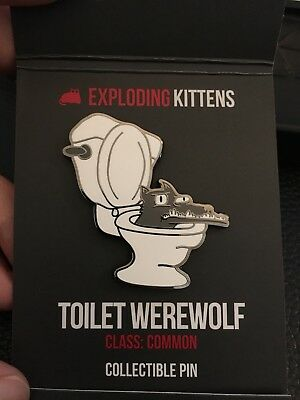 Exploding Kittens Series 2 Enamel Collector Pin Blind Bag UNOPENED