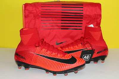 acf57797475 Nike Mercurial Superfly V AG-Pro Size 8.5 Soccer Cleats 831955-616 Red MSRP