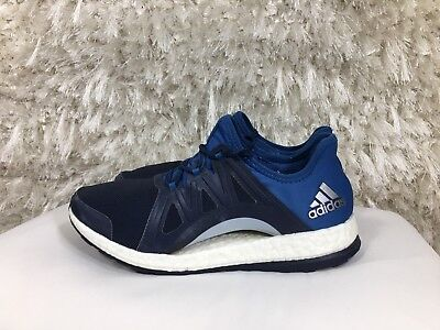 465aef785 ADIDAS PURE BOOST Xpose Women s Athletic Navy Blue Size 7.5 -  34.99 ...