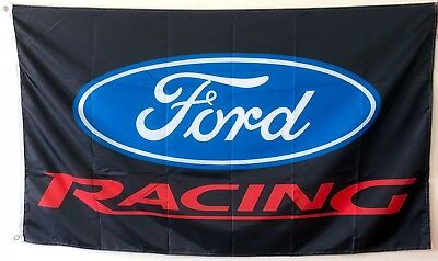 Auto Advertising Ford RACING FLAG BANNER 3X5ft man cave