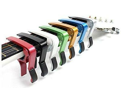 Aluminium Guitar Capo for Electric Acoustic Guitar Trigger Quick Release Gift