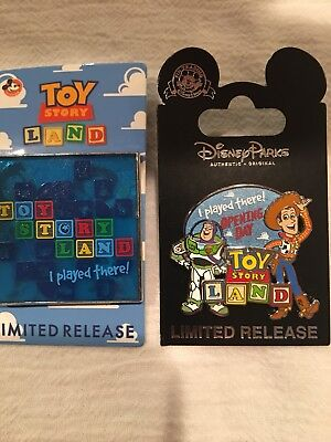 Toy Story Land Opening Day Pins