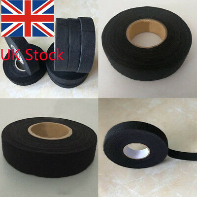 5pcs Adhesive 19mmx15M Cloth Fabric Tape Cable Looms Wiring Harness For Car Auto