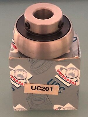 UNIVERSAL UBC UC201 Ball Bearing Pillow Block Steel