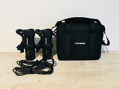 Profoto D2 500/500 Monolight Strobe Lighting Kit Excellent Almost Mint Condition