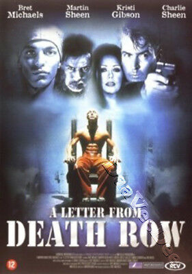 A Letter from Death Row NEW PAL Cult DVD Marvin Baker Bret Michaels Martin Sheen