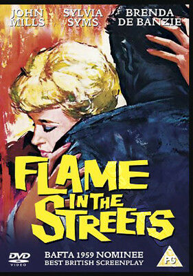 Flame in the Streets NEW PAL Classic DVD Roy Ward Baker John Mills Sylvia Syms
