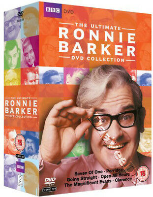 The Ultimate Ronnie Barker Collection NEW PAL Series 12-DVD Set Sydney Lotterby