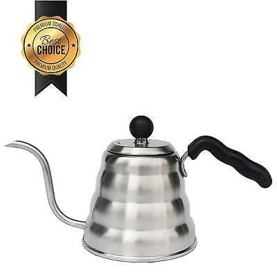 Gooseneck Pour Over Coffee & Tea Kettle By Mixpresso Coffee Stove Top Hot Water