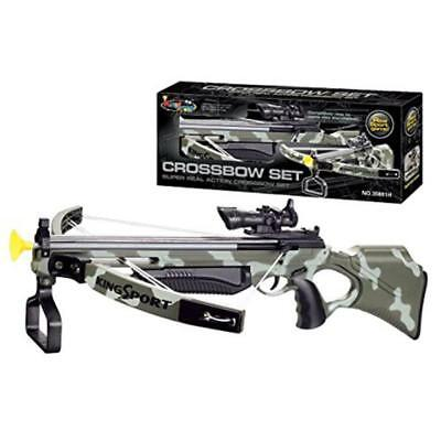 """Deluxe Action Military Crossbow Set with Scope 30"""" - Free Delivery"""