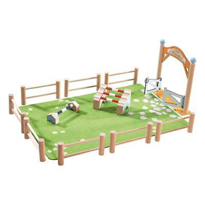 Haba Little Friends Play Set Springturnier Toy Set for Girls from 3 Years