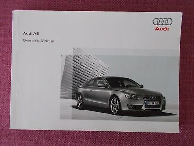 audi a5 coupe owners manual 2009 2011 handbook set 19 90 rh picclick co uk 2010 audi a5 owners manual pdf 2011 audi a5 owners manual number