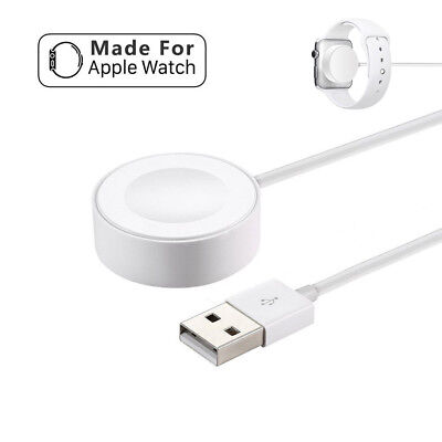 USB Magnetic Charger Charging Cable For Apple Watch iWatch Series 1/2/3 38 42mm