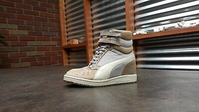WOMENS PUMA SKY Wedge Lc Hi Heel Sneakers Shoes Sz 8.5 39 B