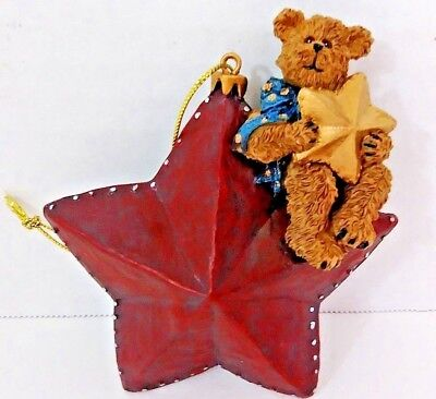 "Boyd's Bears  ""Bear On A Star"" - #257403 - NIB"
