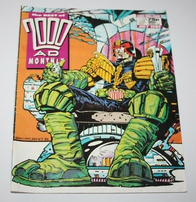 The Best of 2000AD Monthly #46, July 1989 - Judge Dredd - UK Comic