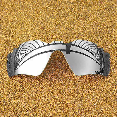US Polarized Lenses Replacement for-OAKLEY Radar Path Vented - Silver Mirror