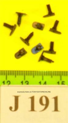 j191 jouef ho/oo spares pack of 10 oblong headed square shank buffers