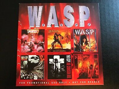 W.a.s.p. To Die For Promo 6 Track Sampler 1998 Snapper Music