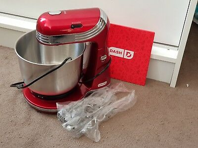 The Dash Everyday Stand Mixer 3 Quart Stainless Steel Mixing Bowl 20 00 Picclick Uk
