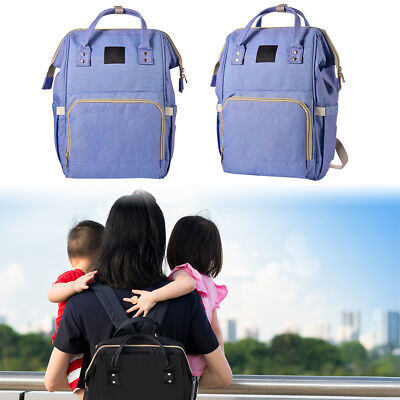 Multi-Function Waterproof Large Capacity Diaper Bag Nappy Travel Backpack BB024