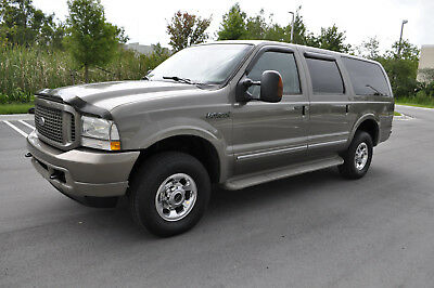 2004 Ford Excursion Limited 4x4 Diesel 2004 FORD EXCURSION LIMITED 4x4 POWERSTROKE TURBO DIESEL