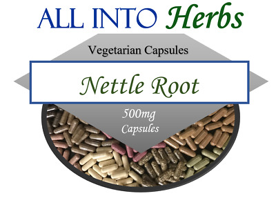 Nettle Root Vegetarian Capsules QTY 20 - 200