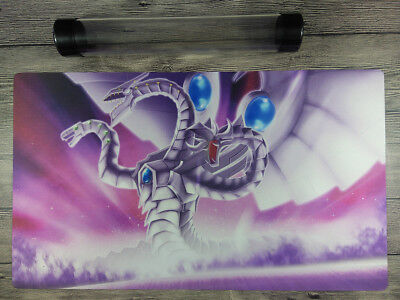 Yu-Gi-Oh! Cyber Dragon WCS/WCQ Custom Playmat TCG CCG Mat Free High Quality Tube