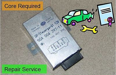 VW Cabrio, Jetta MK3 Cruise Control Module  Repair Service (Core Required)