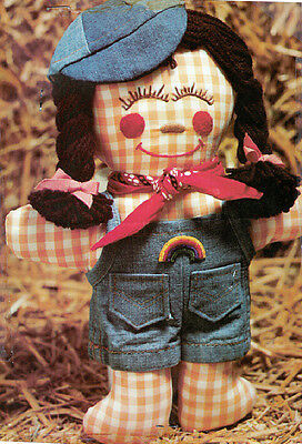 Crafts - Dolls - Gingham Doll - Pattern 0035