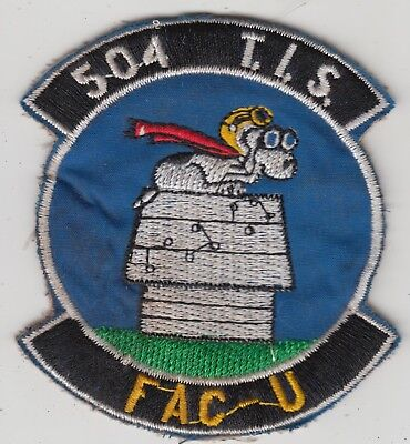 USAF 504th Tactical Air Support Group Vietnam Patch FAC Forward Air Control