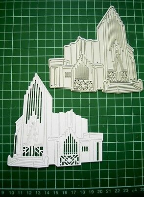 ART DECO CHURCH DIE TLD0010 - TATTERED LACE - Stephanie Weightman